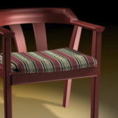 Wood Furniture Tub Dining Chair