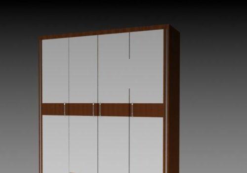 Wood Furniture Wardrobe Cabinet