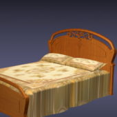 Wooden Carved Bed Furniture