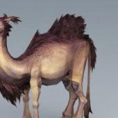 Animal Wooly Camel