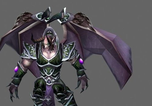 World Of Warcraft Demon Game Character