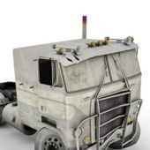 Wrecked Truck Vehicle