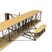Vintage Wright Flyer Pioneer Aircraft