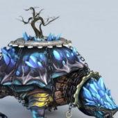 Xuanwu Tortoise Game Character