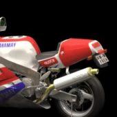 Motorcycle Yamaha Fz750 Sport