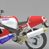 Vehicle Yamaha Yzf750 Sport Bike