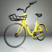 Fashion Yellow Bike