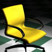 Furniture Yellow Office Chair