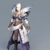 Young Human Warlock Character