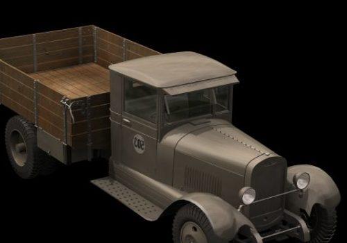 Zis-5 Truck Vehicle