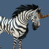 Zebra Unicorn Animal