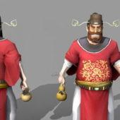 Character Zhong Kui Chinese God