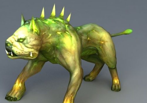 Zombie Dog Gaming Animal