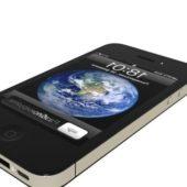 Grey Iphone 4 Smartphone